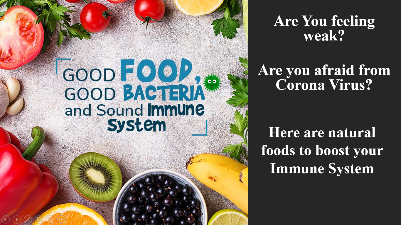 Natural foods to boost your immune system